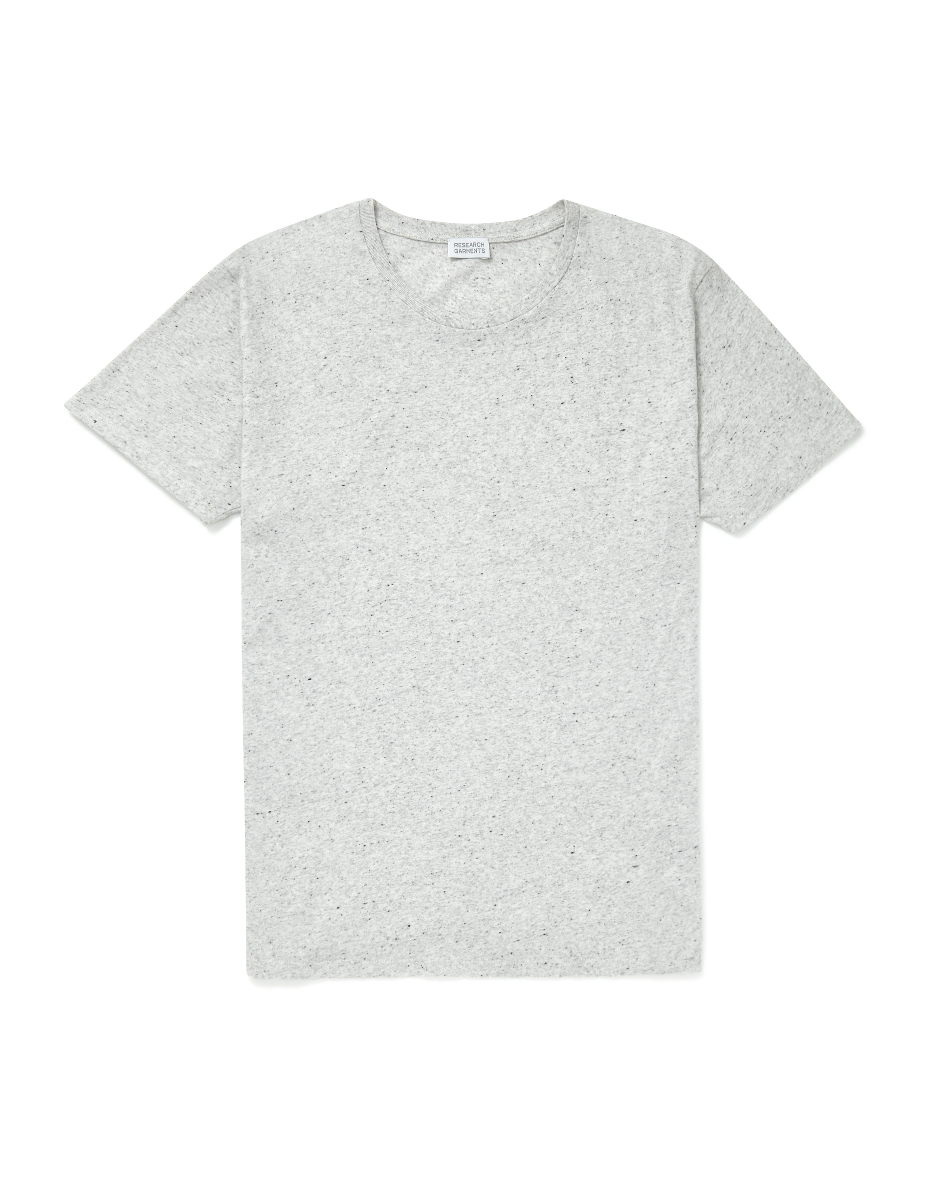 Research Garments White Marl The Perfect Textured Tee