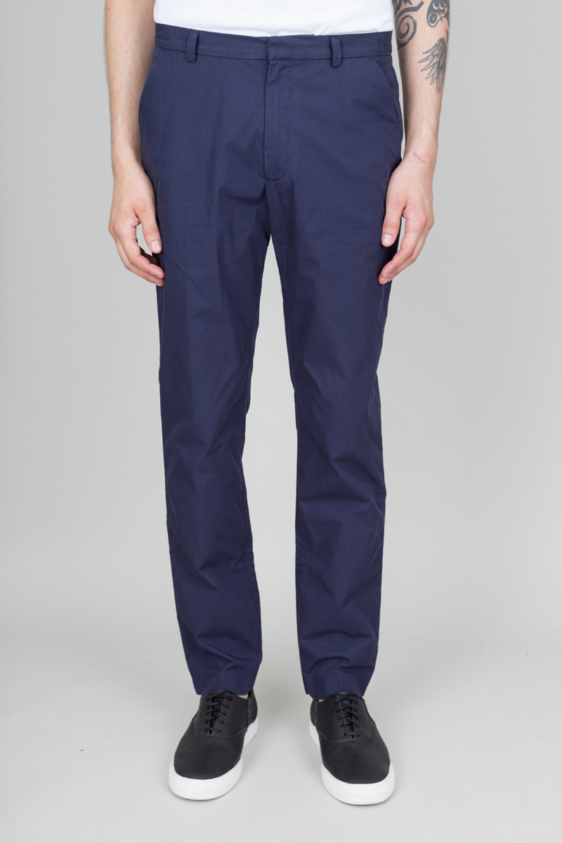 Folk Counter Trousers - Bright Navy