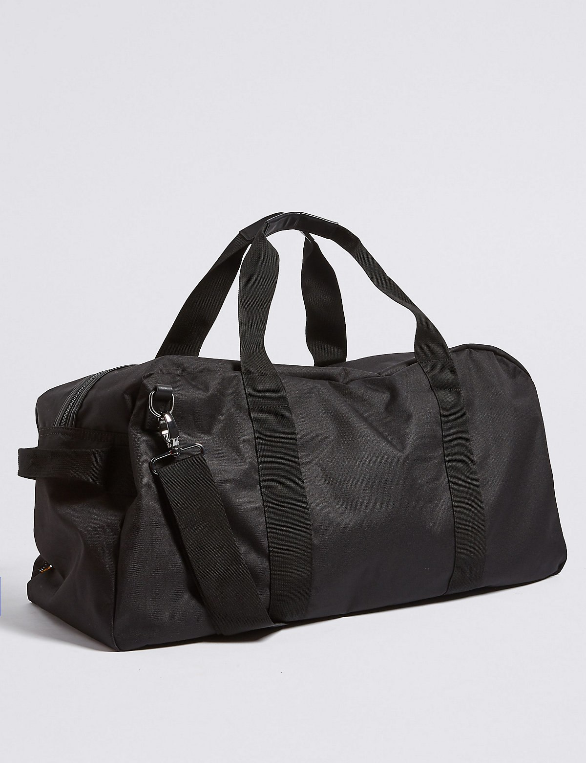 Marks & Spencer Black Scuff Resistant Cordura® Holdall