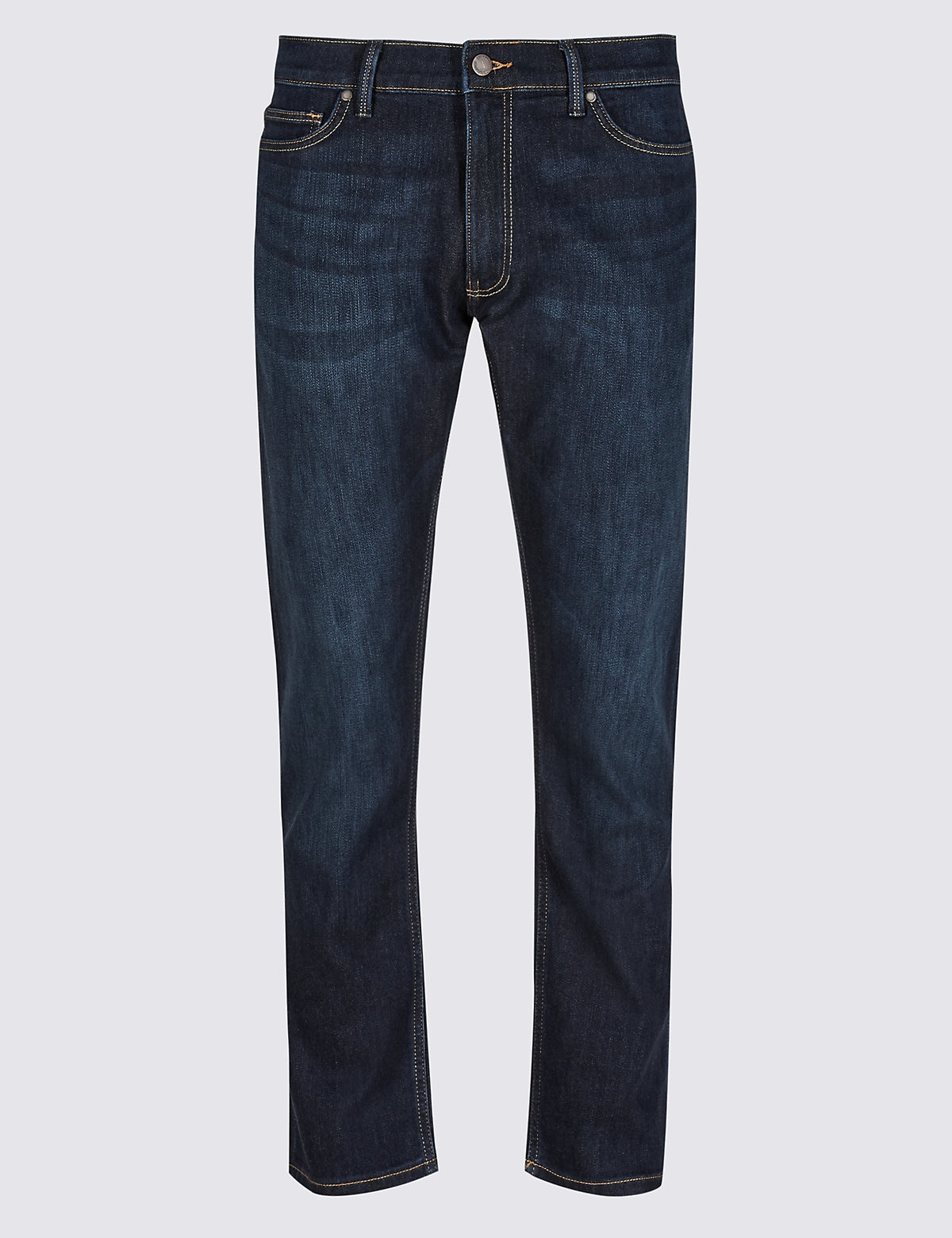 Marks & Spencer Dark Indigo Luxury Performance Slim Fit Jeans