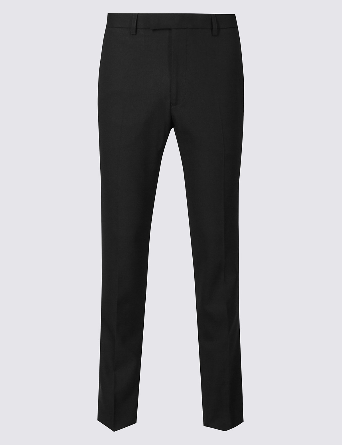 Marks & Spencer Black Modern Slim Fit Trousers