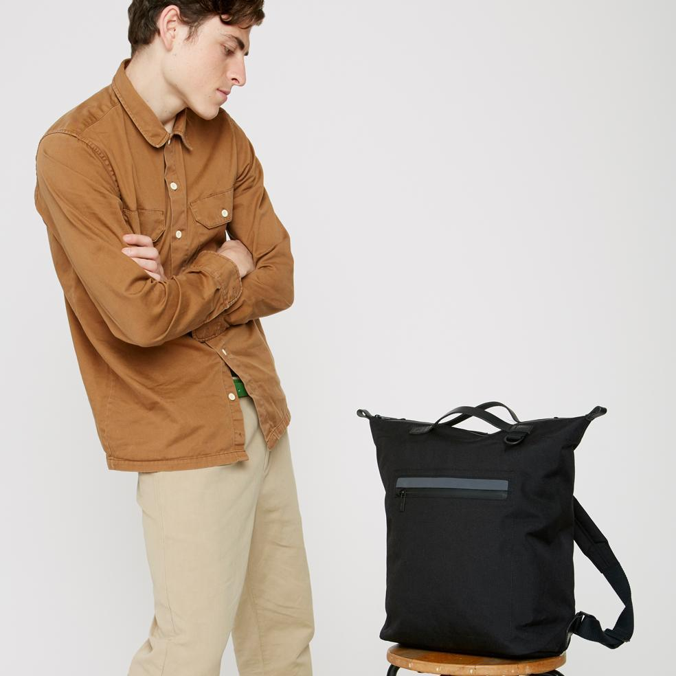 30aaae6bb3a Mini Hoy Travel/Cycle Rucksack in Black by Ally Capellino