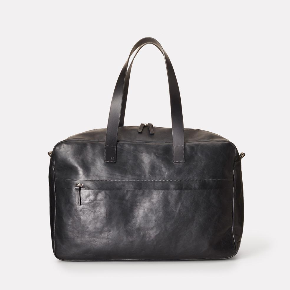 Ally Capellino Mateo Calvert Leather Holdall in Black