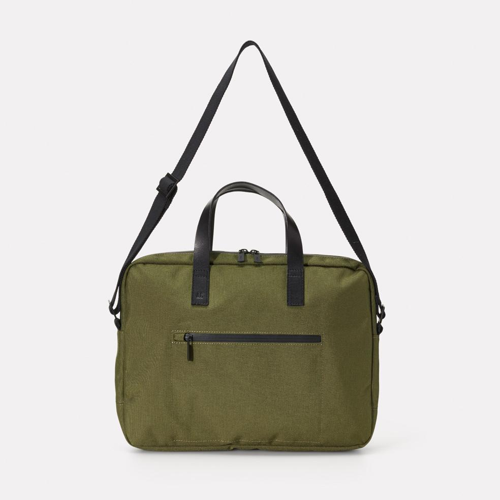 Ally Capellino Mansell Travel/Cycle Briefcase in Green
