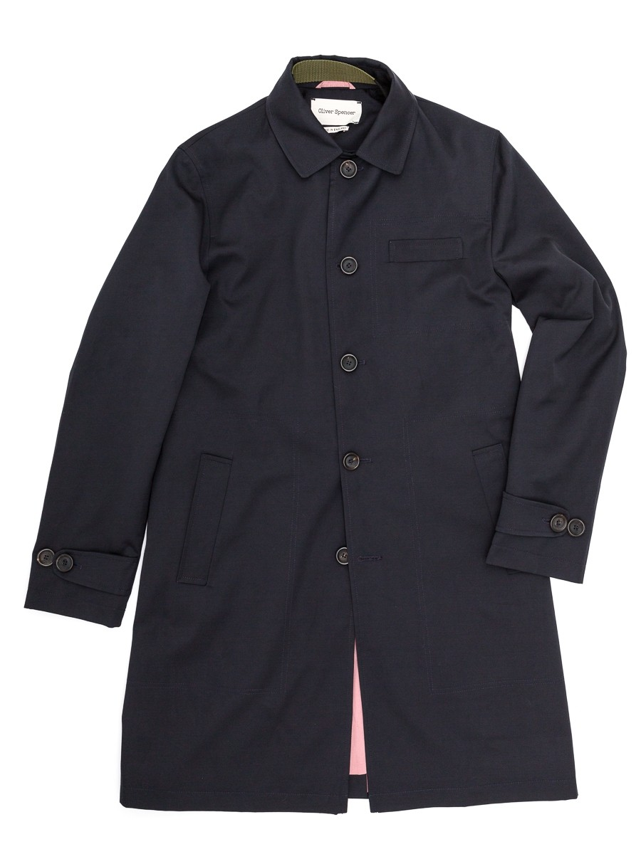 Oliver Spencer Beaumont Mac Reed Navy