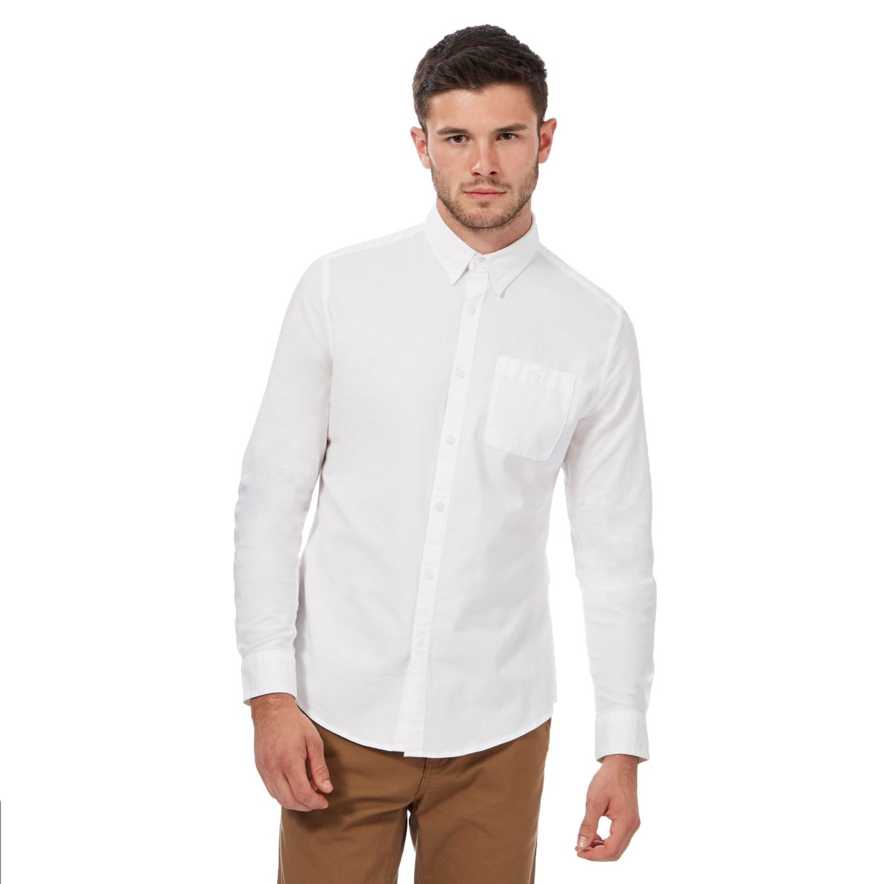 Red Herring White button down Oxford shirt