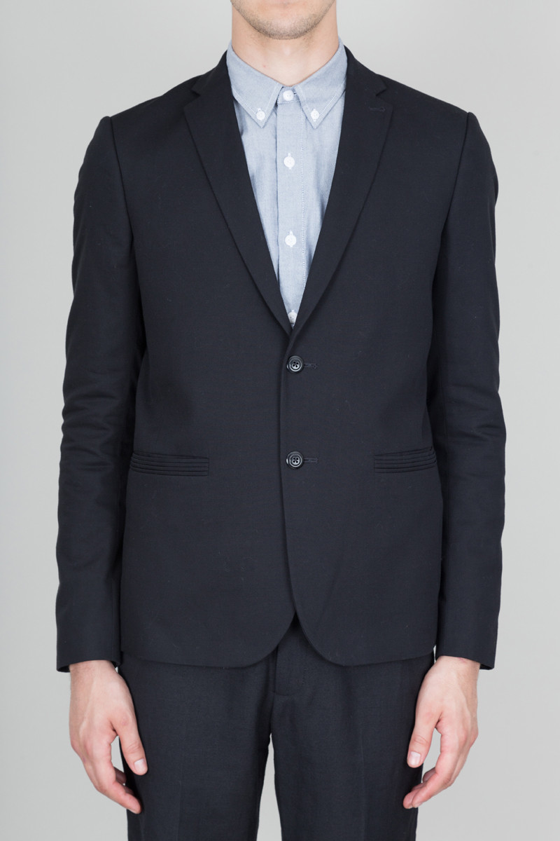 Folk Tailored Blazer - Black