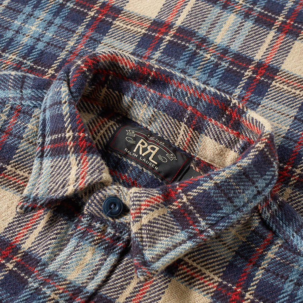 55c6a128 RRL Matlock Work Shirt. £219. Sorry, this item has just gone out of stock.  Our stylists will find you something similar if you sign up for Thread.