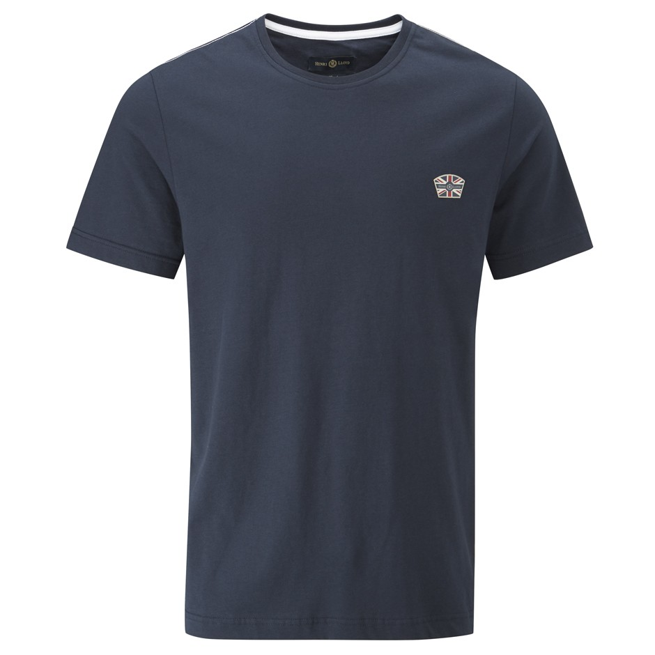 Henri Lloyd Navy Becketts Branded Tee