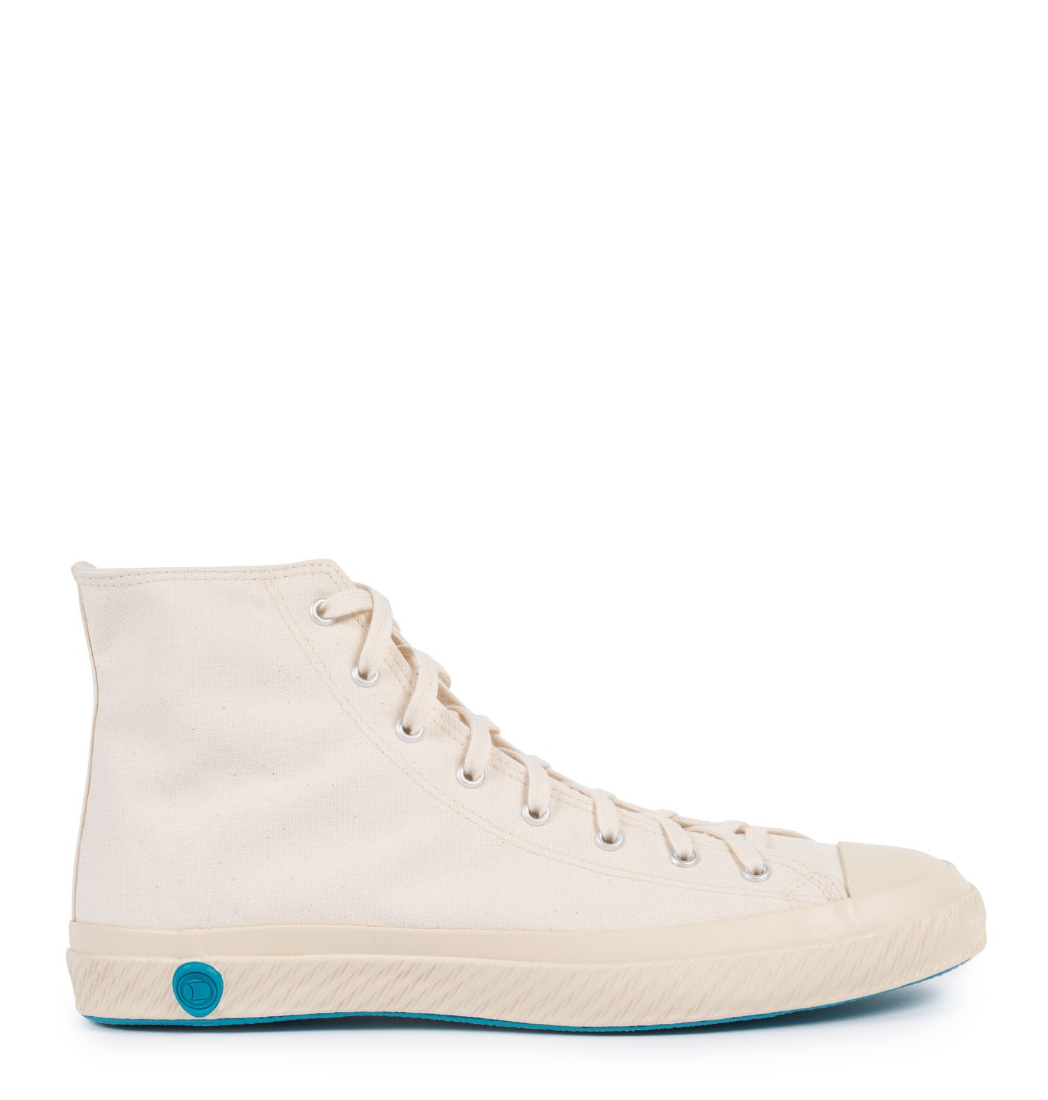 Sunspel Off White Shoes Like Pottery Canvas Trainers High Top