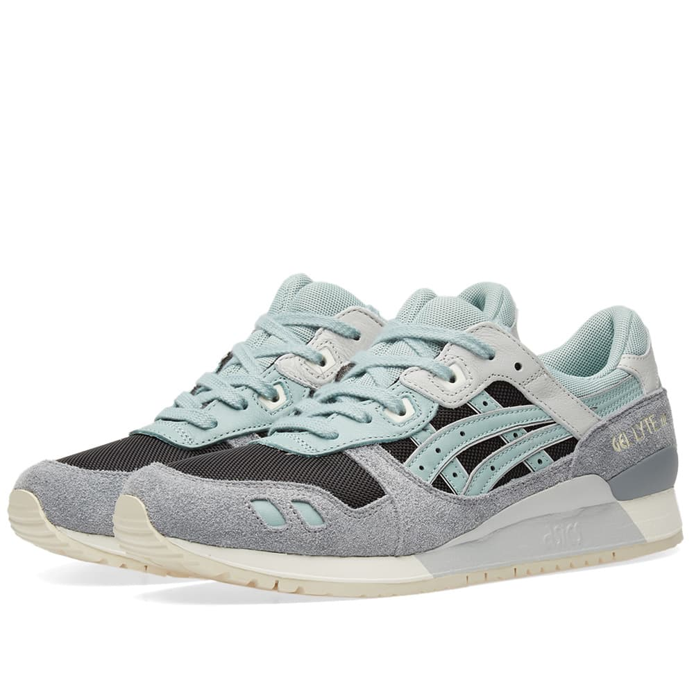 Asics Black & Blue Surf Gel Lyte III
