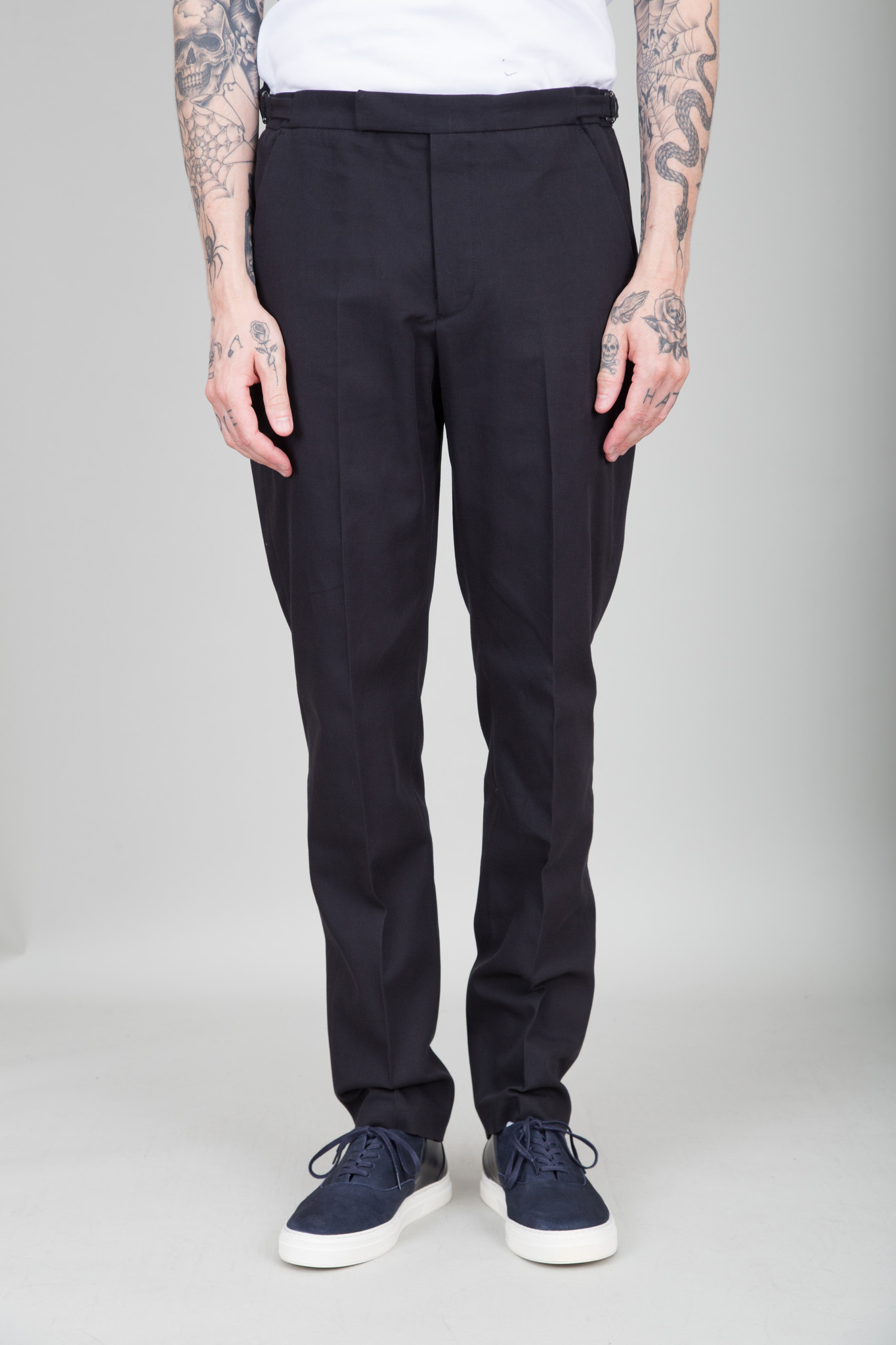 Folk Tailored Trousers - Black
