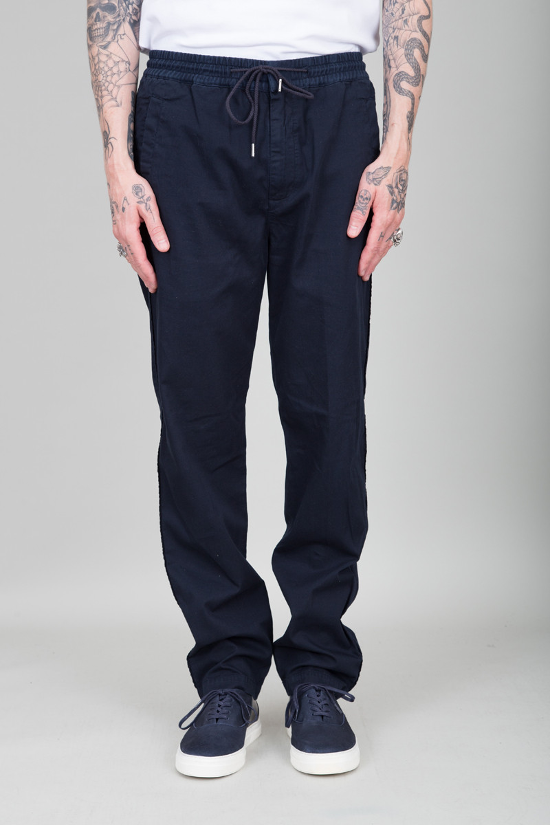 Folk Drawcord Trousers - Deep Navy