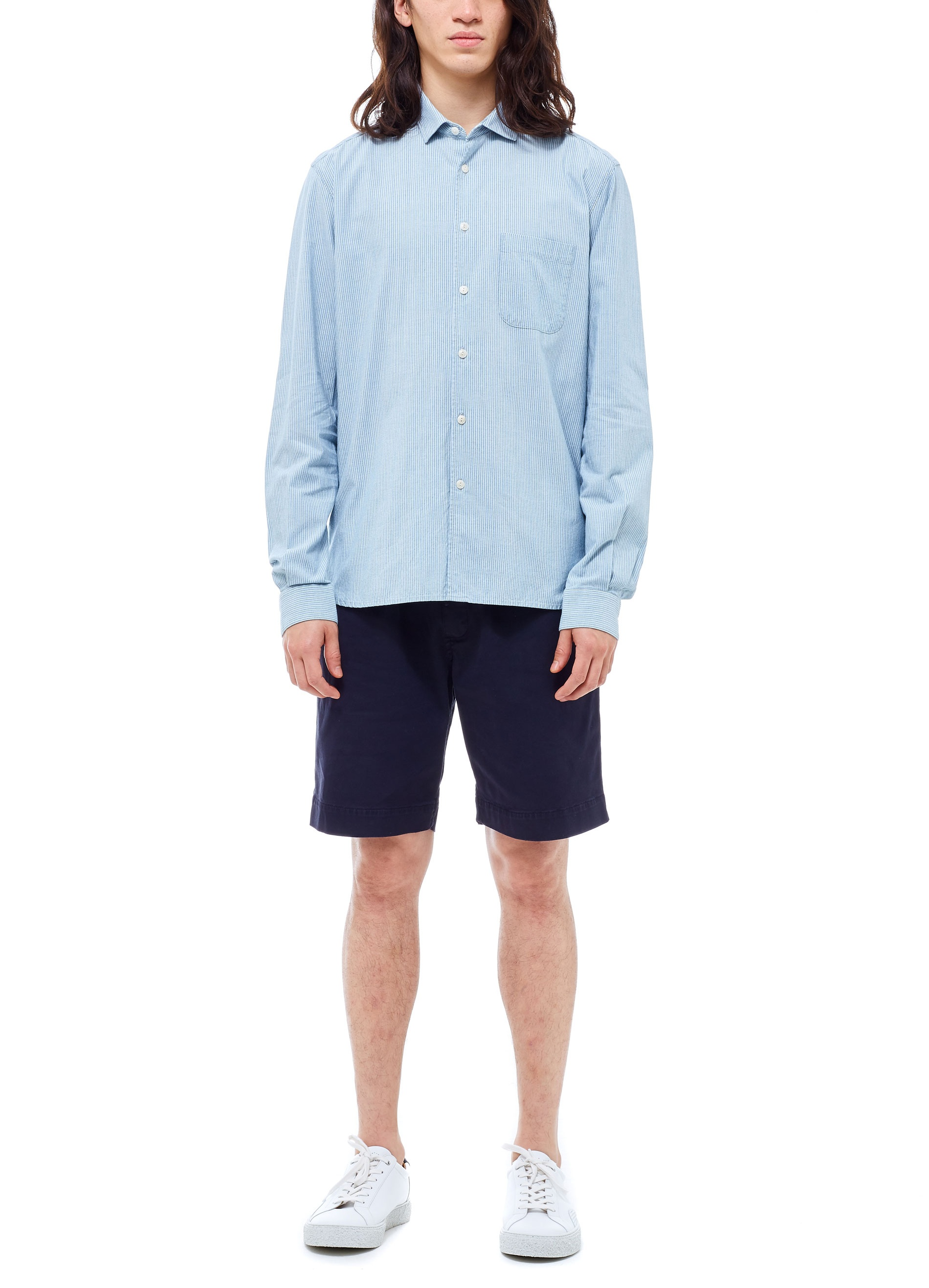 YMC Curtis Shirt (blue)