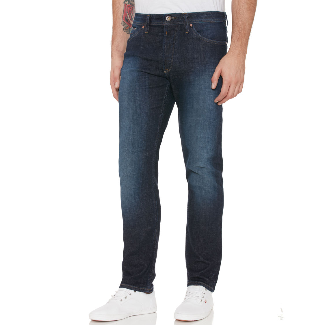 Original Penguin Mid Stonewash Slim fit jeans