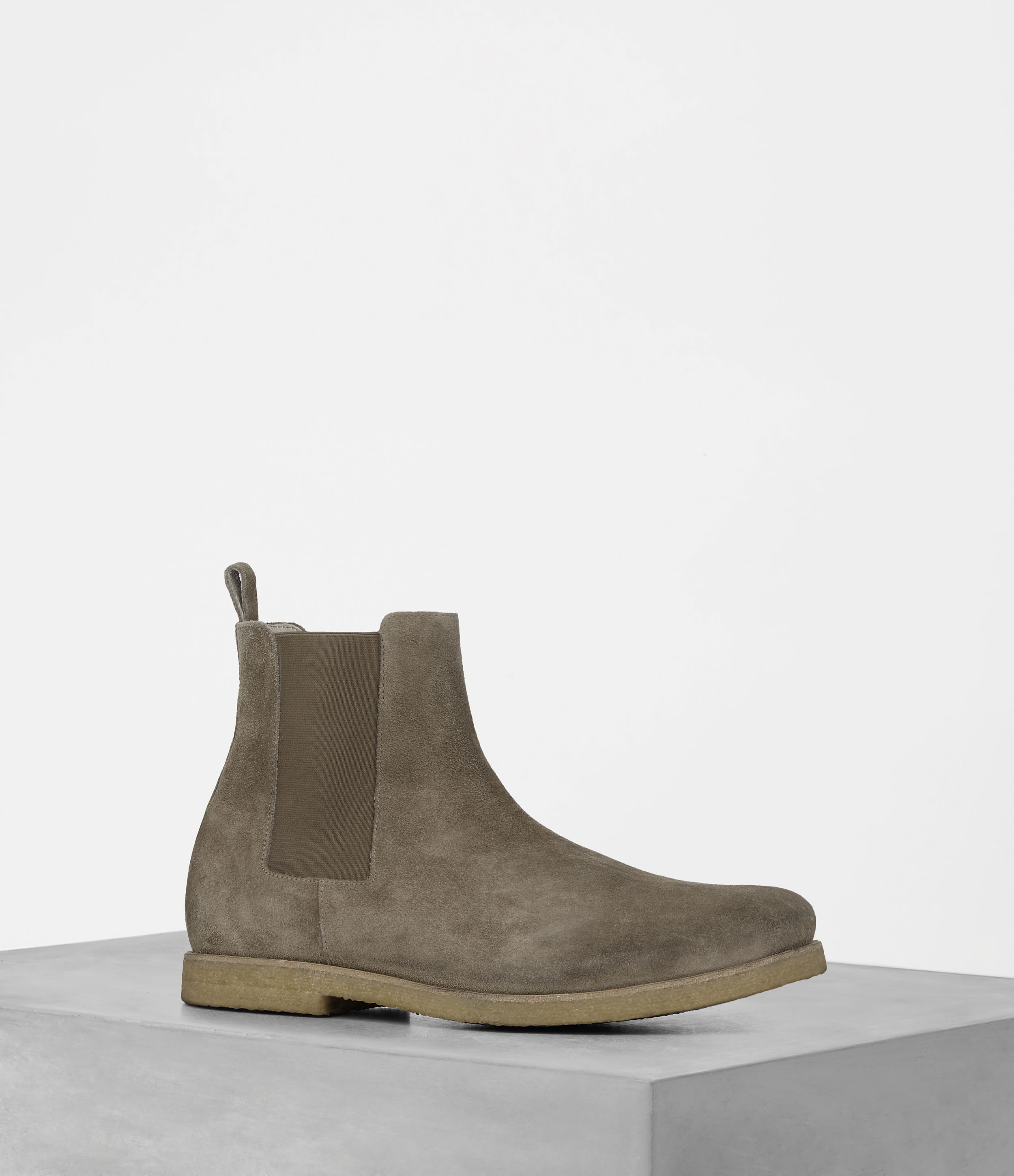 AllSaints Taupe Reiner Boot