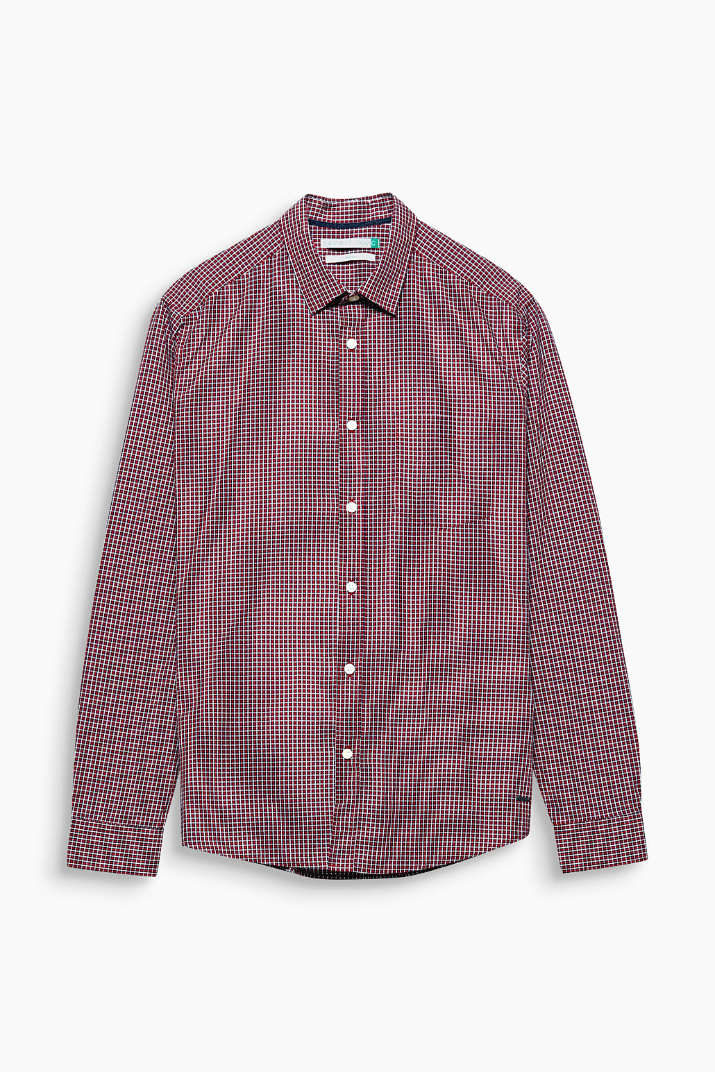 Esprit RED 630 Check Shirt in Organic Cotton