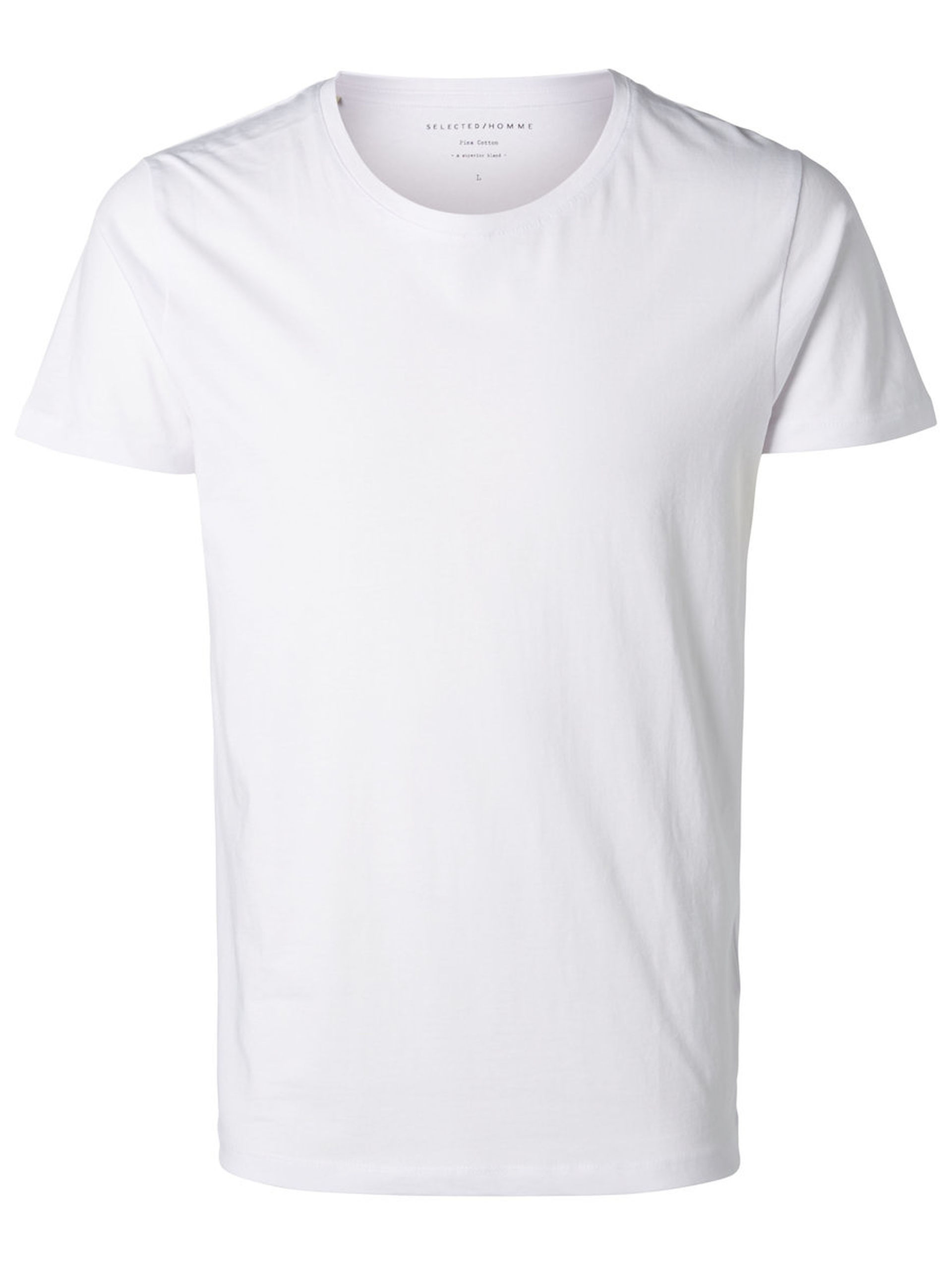 Selected White Dave T-Shirt