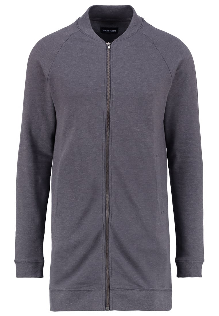 YOURTURN Mottled dark grey Tracksuit top