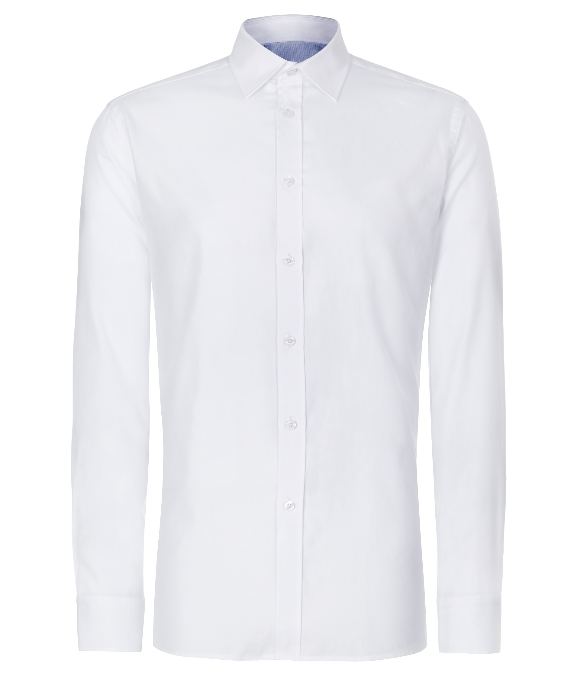Nigel Hall White Regular FIt Classic Style Formal Shirt (Cell)