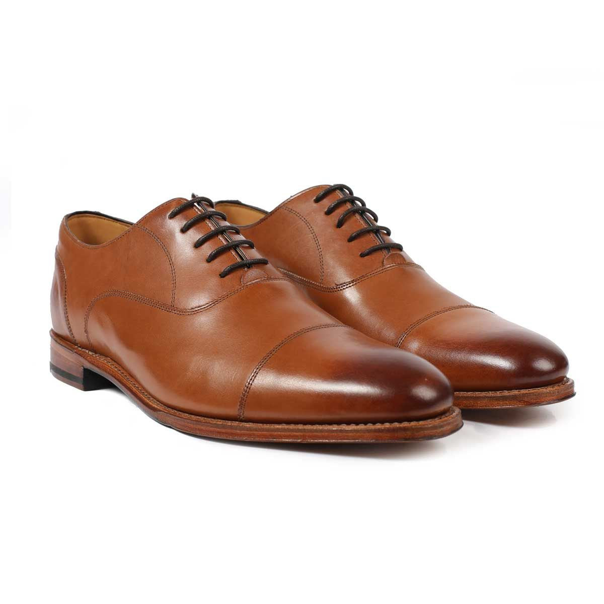 Oliver Sweeney Leadenhall Dark Tan - Formal Calf Leather Shoe