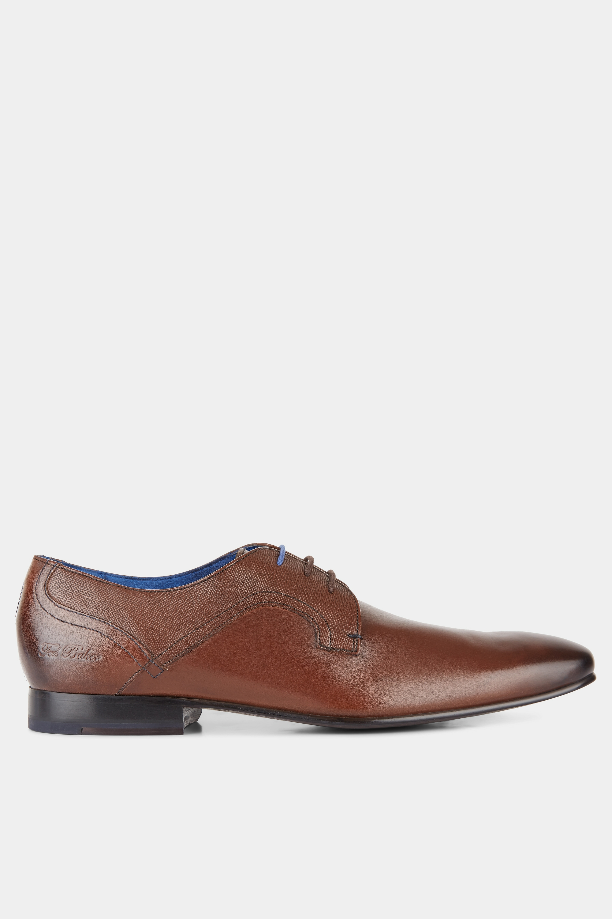 Ted Baker City Pelton Brown Derby Shoes