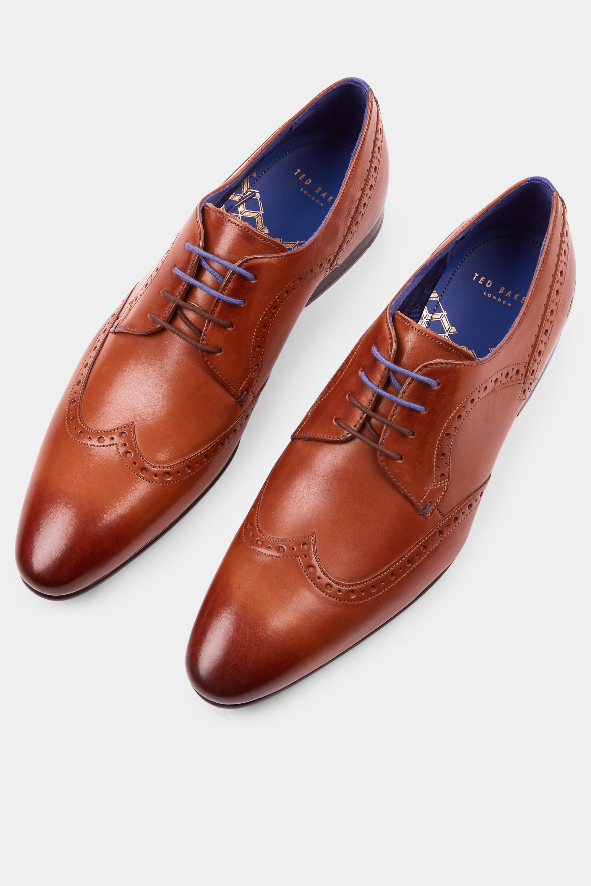 big discount exquisite style many fashionable Ollivur Tan Brogue by Ted Baker — Thread