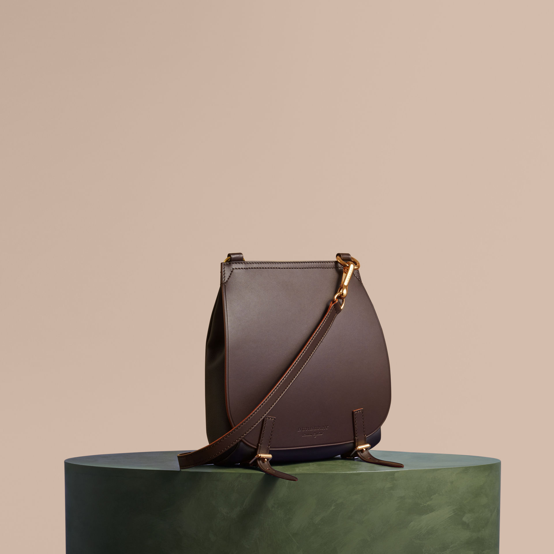 bd1f367eed0e The Small Bridle Bag in Leather by Burberry — Thread