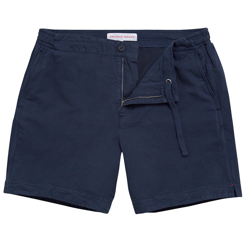 Orlebar Brown BELLAMY COTTON Navy Classic-Fit Everyday Short