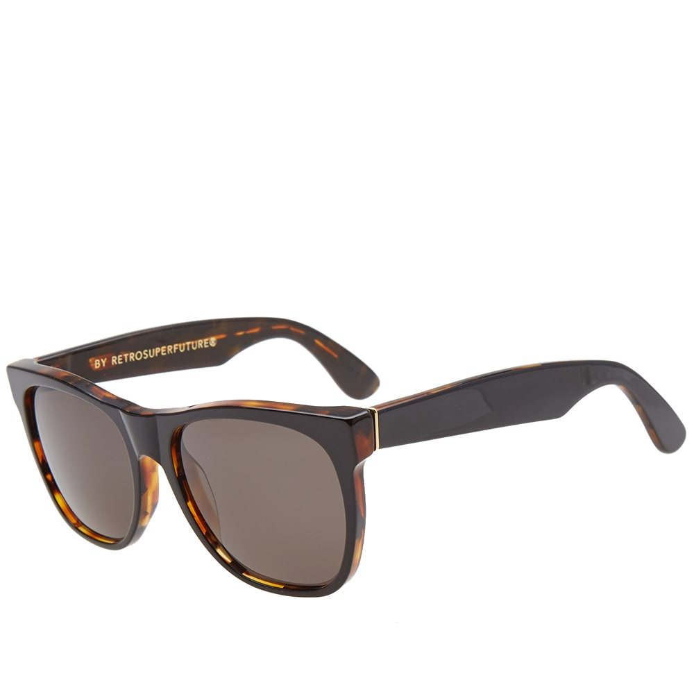 SUPER Havana Black Top by RETROSUPERFUTURE Classic Sunglasses