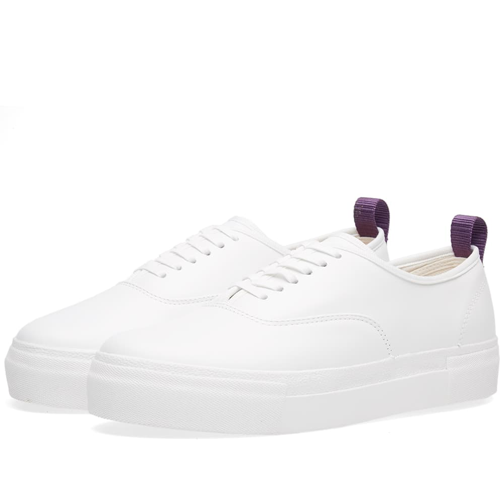 Eytys White Mother Leather Sneaker