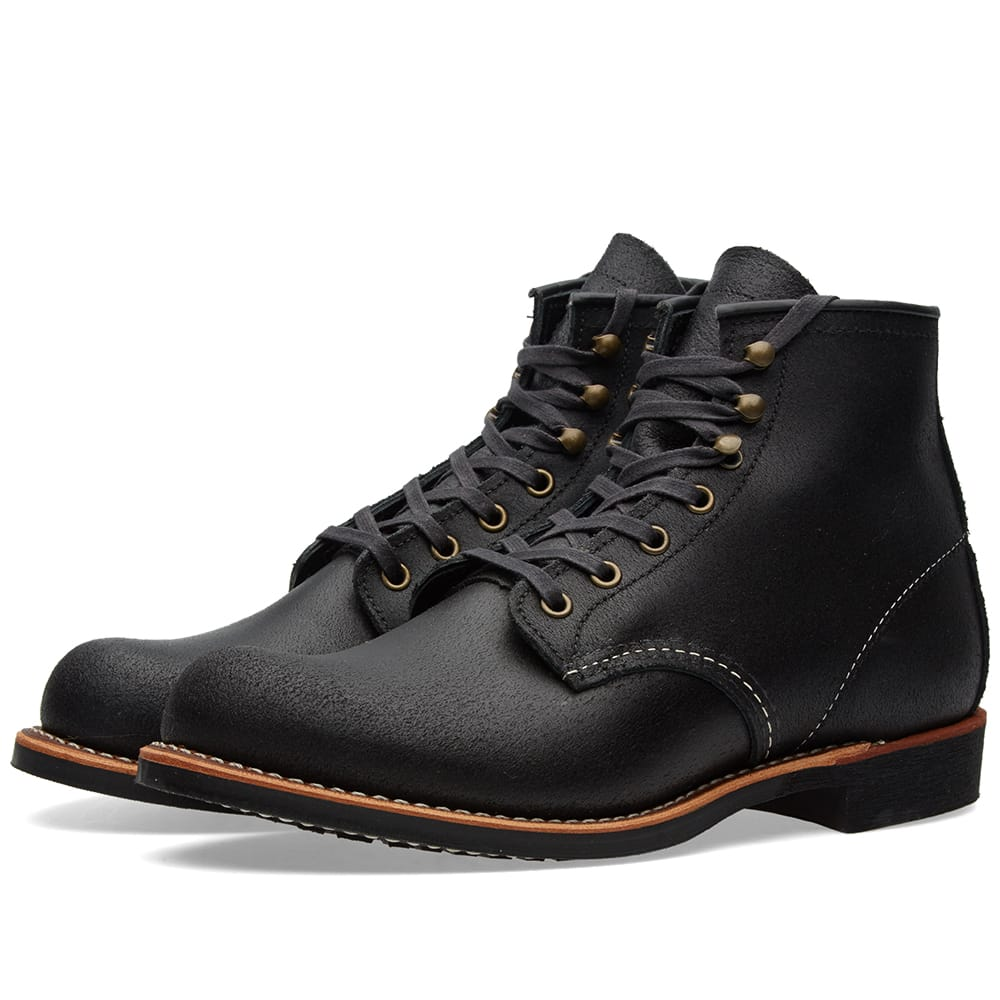 "Red Wing Black Spitfire 2955 Heritage Work 6"" Blacksmith Boot"