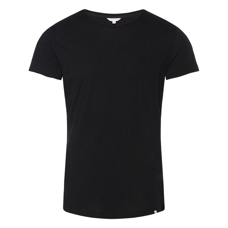 Orlebar Brown OB-T Black Tailored Fit Crew Neck T-Shirt