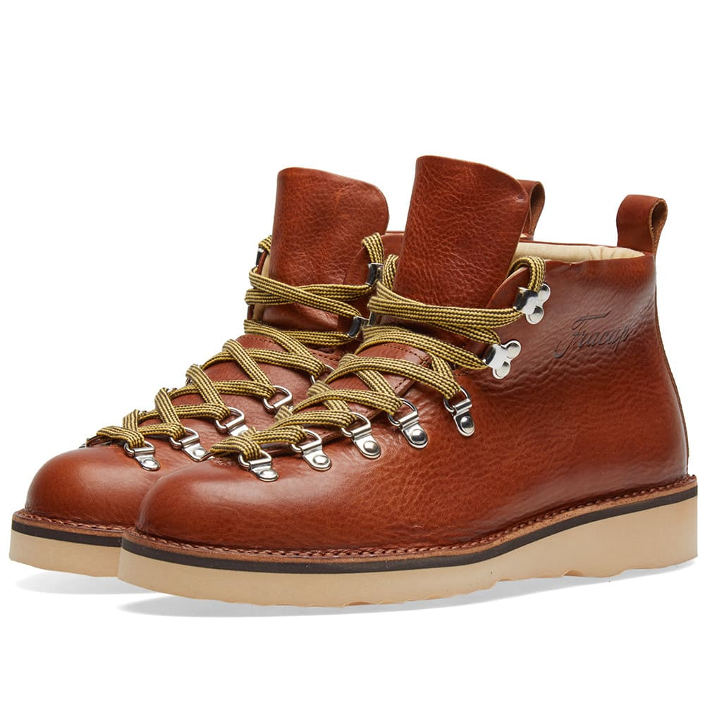 Fracap Brandy M120 Natural Vibram Sole Scarponcino Boot