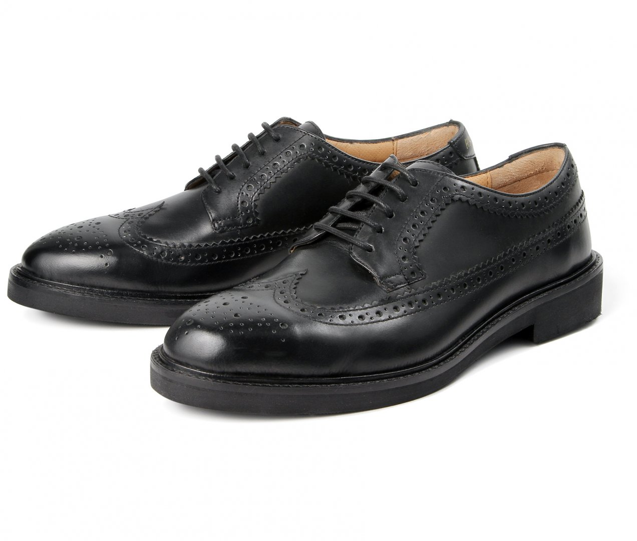 Leather Sole Brogue Shoes