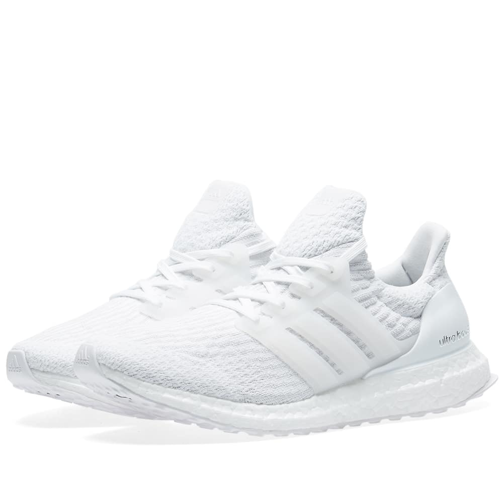 Adidas White Ultra Boost 3.0
