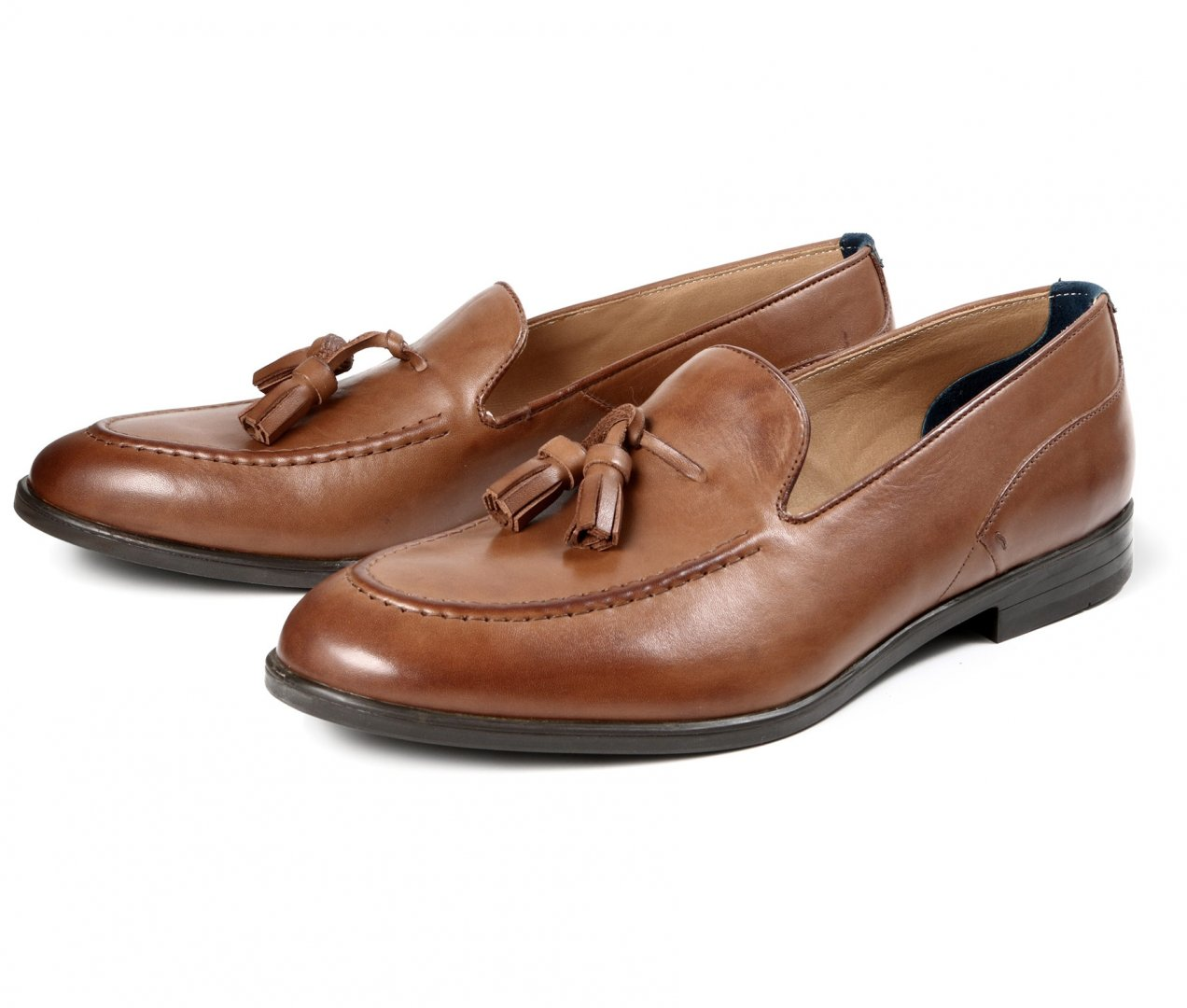 Hudson Shoes Tan Leather Dickson Tan Loafer