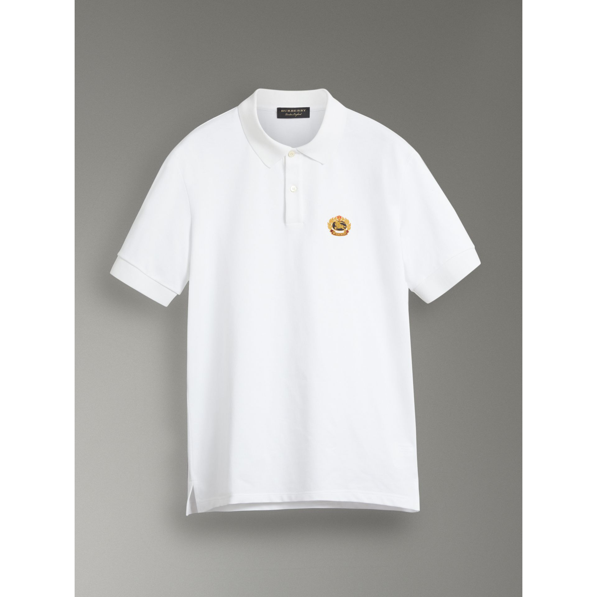 af266400e Reissued Cotton Polo Shirt by Burberry — Thread