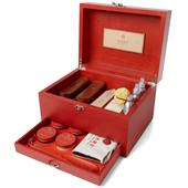 TURMS Wooden Care Case in Red