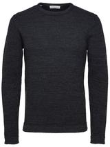 Victor Organic Cotton Jumper in Black