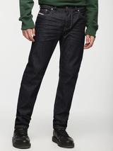 Larkee-Beex Tapered Fit Jeans in Black