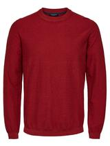 Organic Cotton Jumper in Red