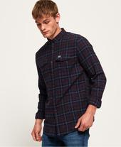 Winter Washbasket Shirt in Red and Navy
