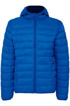 Quilted Jacket in Blue