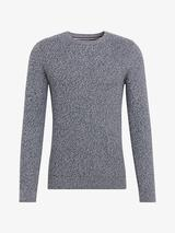 Structure Knit Jumper in Grey