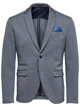 Slim Fit Tailored Blazer in Grey
