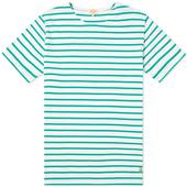 Marinière T-Shirt in Green and White