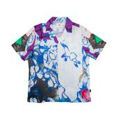 SS Soft Collar Shirt in Multicoloured