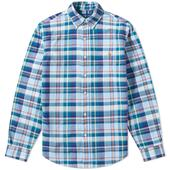 Slim Fit Oxford Shirt in Blue