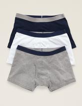 3 Pack Jersey Boxers in